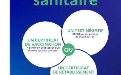 Pass Sanitaire – Décret du 7 Aout 2021